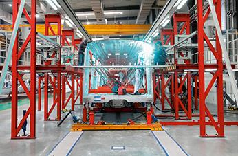 IGM车体总成焊接机器人