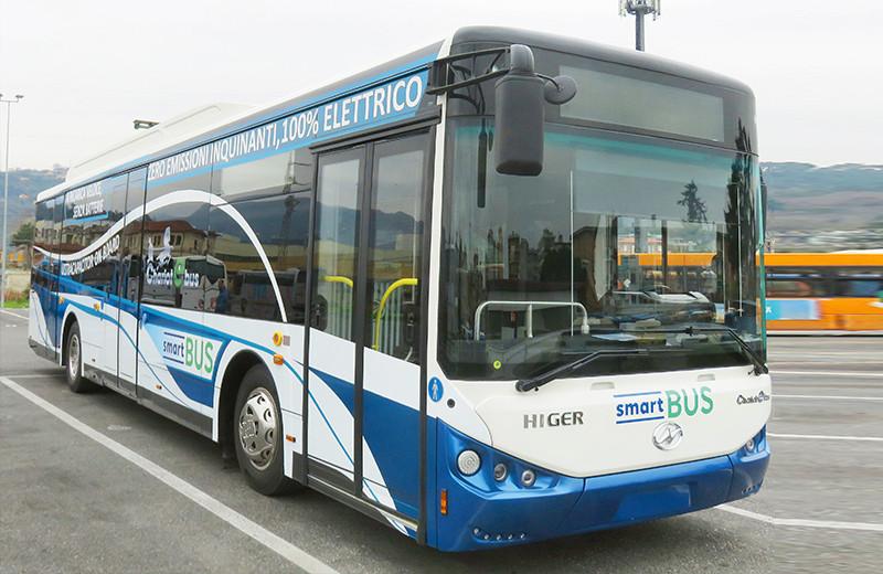意大利拉斯佩奇亚超级电容公交车