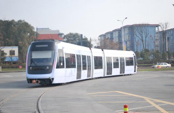 新津有轨电车示范线R1线