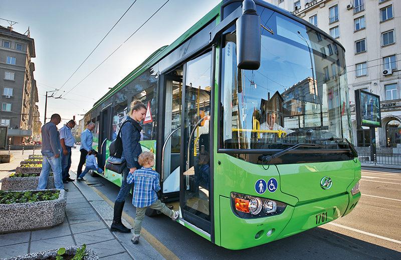 保加利亚超级电容公交车
