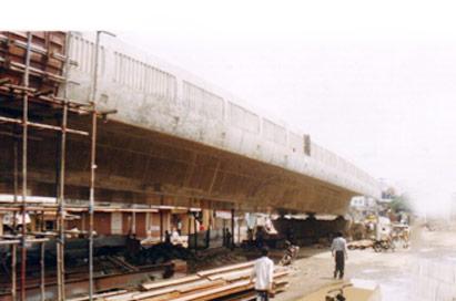 孟加拉KURIL城市立交桥